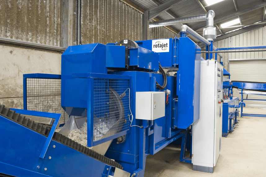 Turn key solution to plastic recycling
