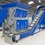 integrated plastic recycling line