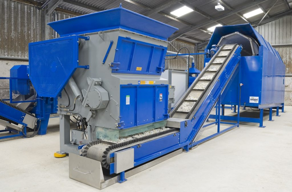 rotajet recycling lines in operation