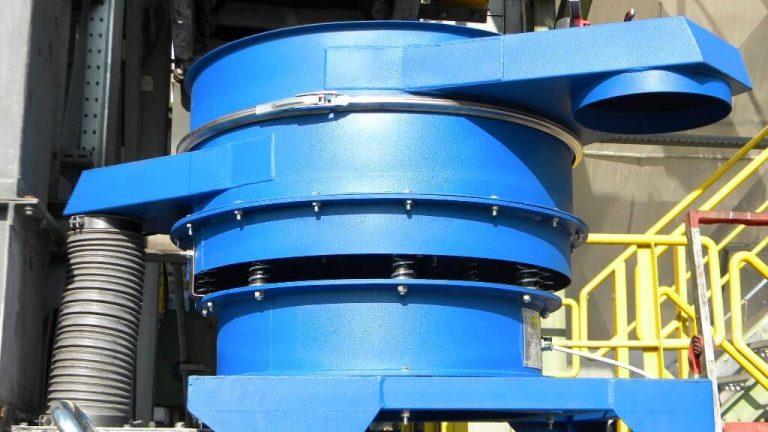 large 2200 diameter vibrating sieve