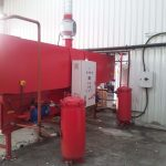 PLC controlled recycling line