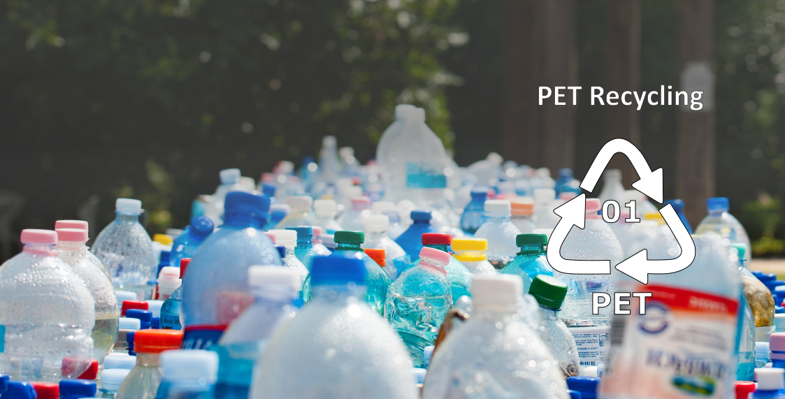 PET bottle banner