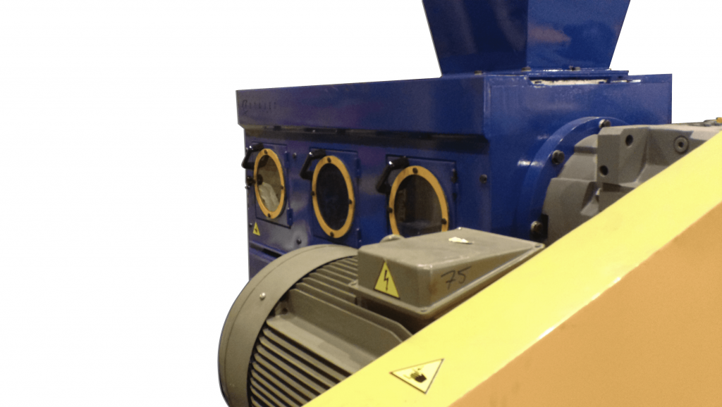 plastic screw compactor