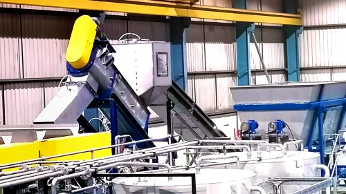 Turnkey recycling systems