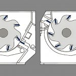 Drawing of a 40-GSH stator Blade