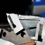 GSH rotor knives between rotor and fixing plate